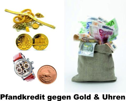 Goldschmuck, Markenuhren und ein Sack voller Bargeld